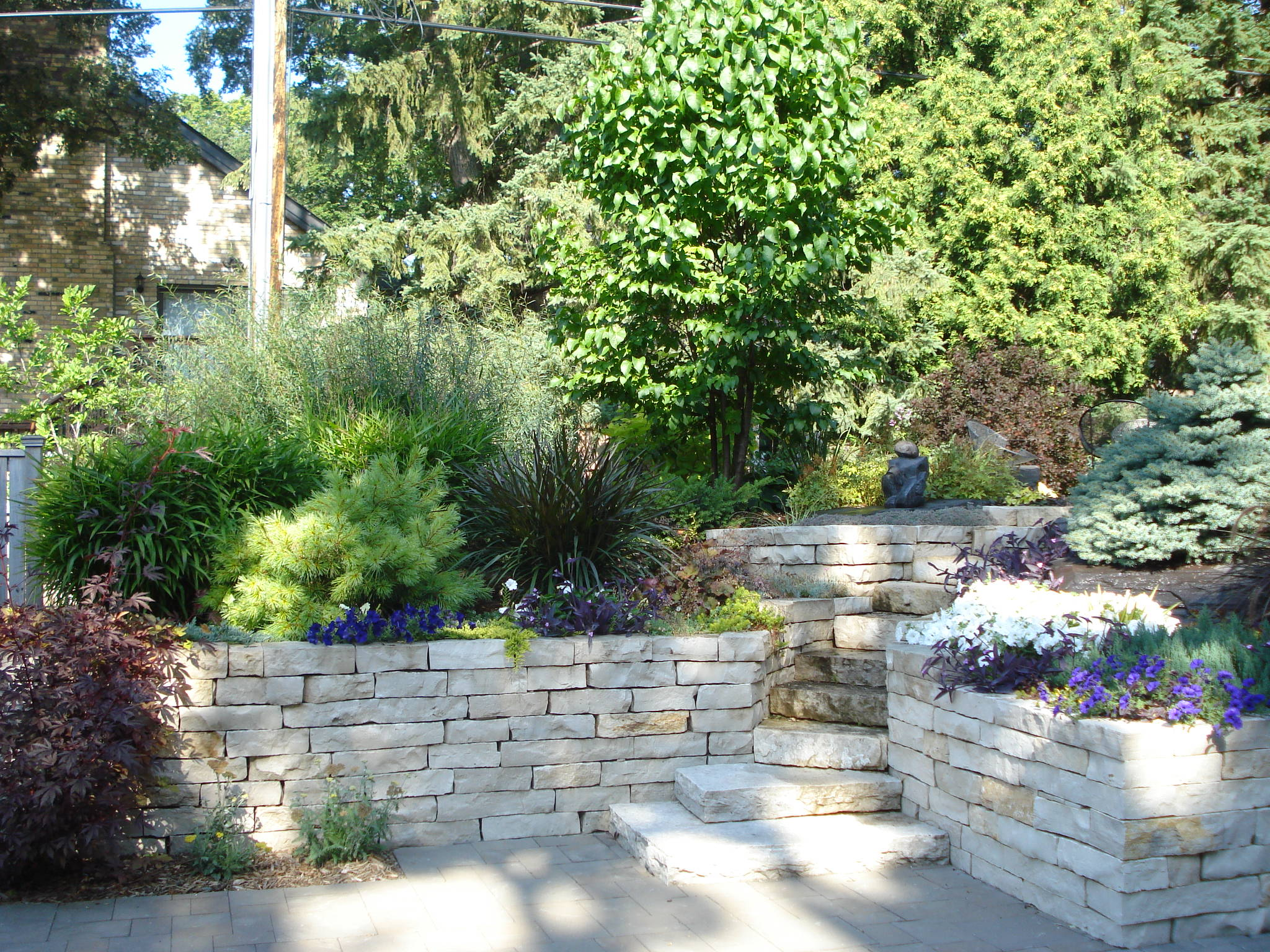 Ultimate home design with landscaping and decks homemade for Ultimate landscape design