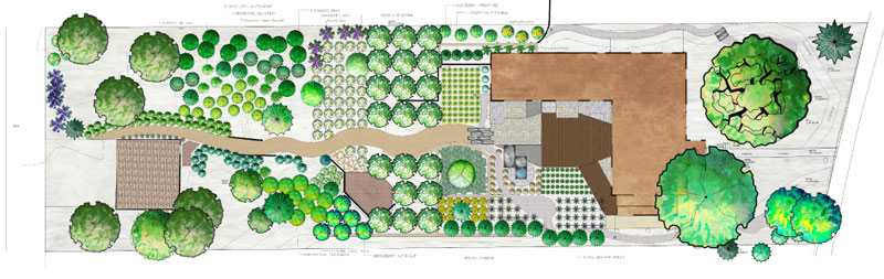 Xlandscape area Residential landscape design sketches
